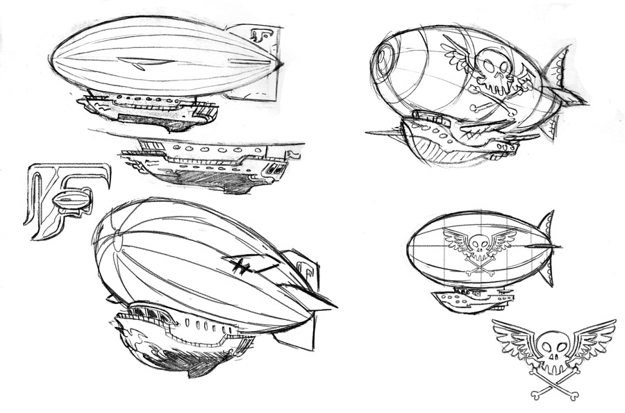 Airship Design by Steve Downer