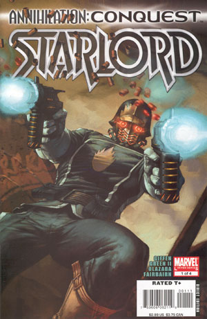 Annihilation: Conquest – Starlord #1: I realize that after the last review,