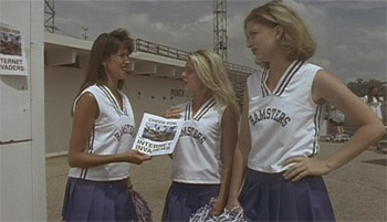 High school lesbian cheerleaders