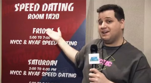 speed dating on cc Valentine's day is just 2-days away and if you don't have a special someone there's an event tomorrow night that could help you find a date.