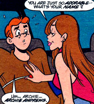 Squirt was archie betty comic fucking strip veronica shaking orgasm :36